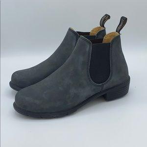 Blundstone 1971 Low Heel Rustic Black